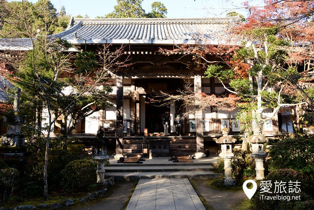 京都赏枫景点 高雄西明寺 06