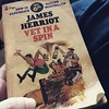 Finished reading The Girl on the Train. For my flight back to KL, going back to an old favourite. James Herriot's books.
