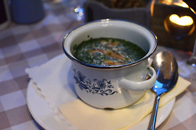 Soup at Zwickl, Munich, Germany