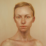 Lu Cong; Ryann; Oil on panel -