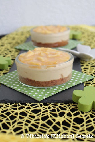 Apfel Karamell Cheesecake, Viktoria's [Kitchen] Secrets