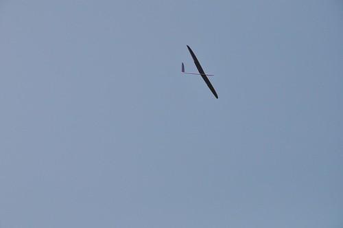 三角埔頂山的遙控滑翔機