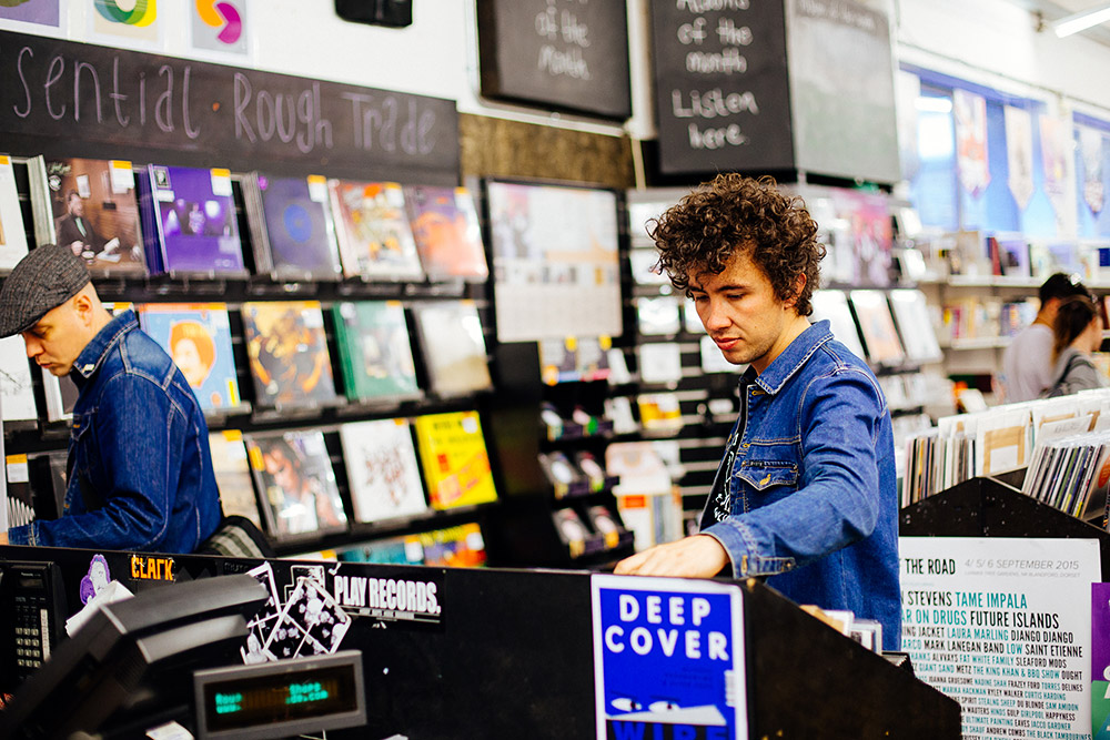 Record Shopping With... Fraser Gorman