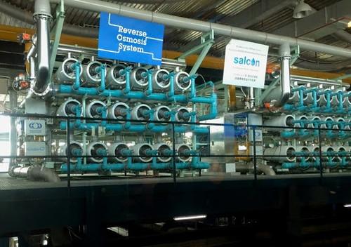 新生水工廠開放民眾參觀,已經成為熱門參觀景點。 攝影:張楊乾