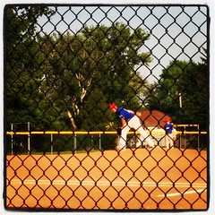 MLB's next greatest pitcher!! Seriously... he's good :) #tecumsehrangers #playball