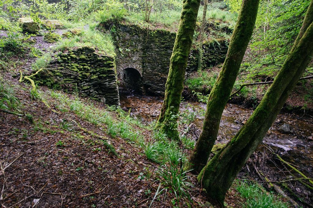 Tourisme vert en France -Ardennes - Le pont d'ardoise