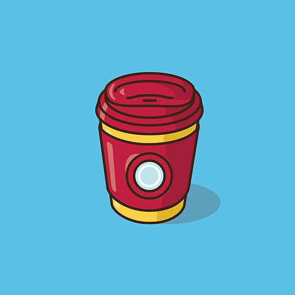 Jacob Parr【經典角色咖啡杯】悠閒的下午來一杯咖啡吧?!
