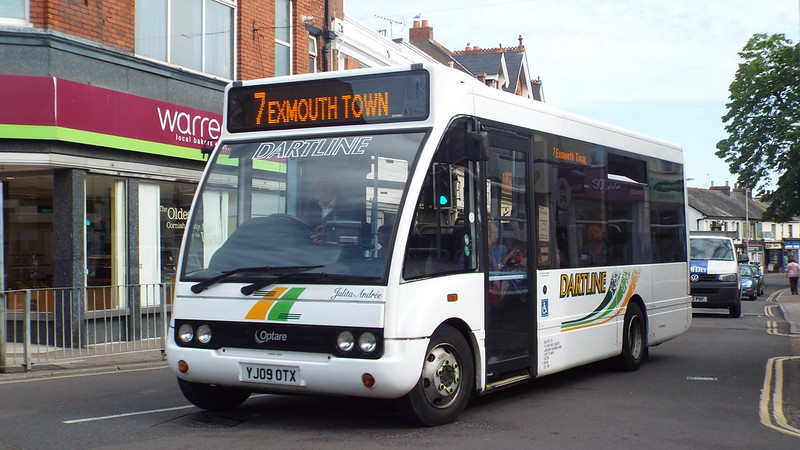 Dartline - YJ09OTX - Exmouth - 4 June 2015
