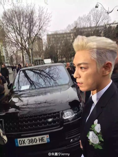 TOP - Dior Homme Fashion Show - 23jan2016 - 朱嘉宁Jenny - 01
