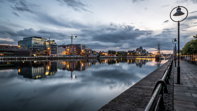 North Wall Quay - Dublin, Ireland - Cityscape photography