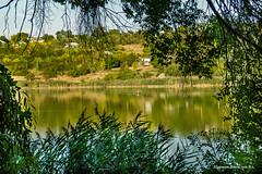 Riscani.Озеро 'Малиновка'