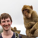 Me and a Barbary macaque by TimOve