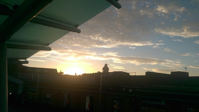 Sunrise at Clapham Junction