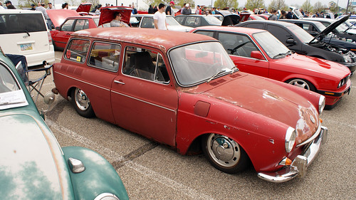 VW Squareback rat rod