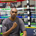 Sean Hill at Mayweather Gym in Las Vegas, NV