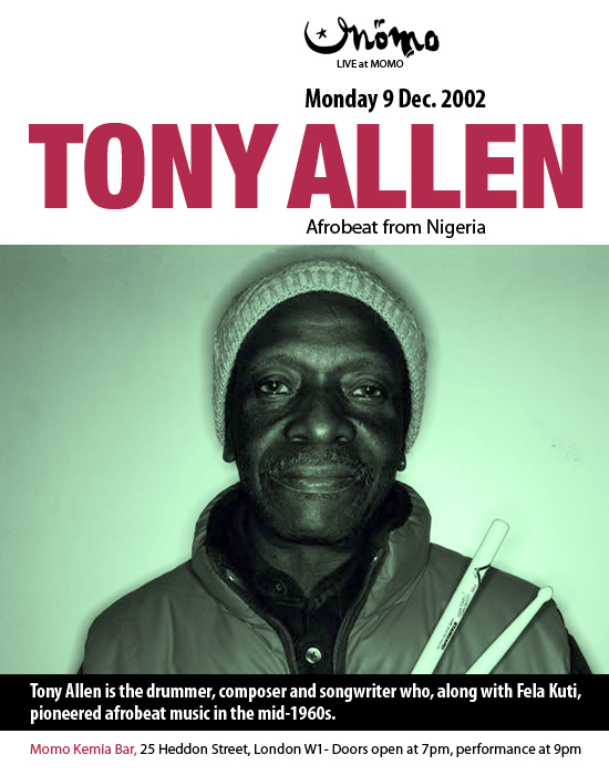 Tony Allen And The Afro Messengers No Discrimination
