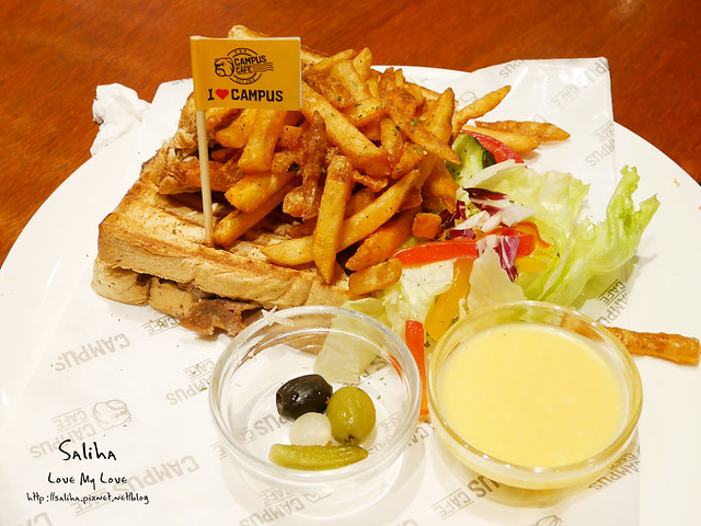campus cafe忠孝店美式餐廳推薦 (23)