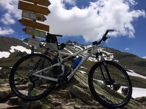 Davos Scalettapass Biking 2016