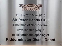 Severn Valley Railway  2016 Diesel Gala.