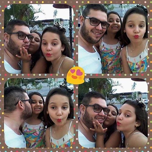 Eu e elas. Sobrinhas lindas #amomuito