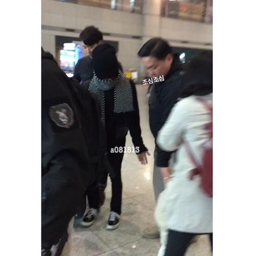 G-Dragon - Incheon Airport - 10jan2015 - a081813 - 03