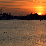 Dusk over Preston Docks - 2