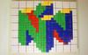 N64 - Rubik's Cube Mosaic