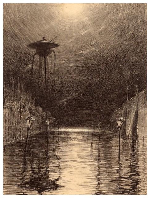 018-La Guerre des Mondes illustreè par Alvim Corrêa-1906- Heritage Auctions