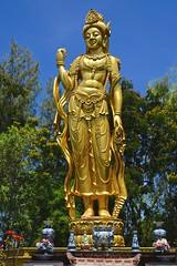 Mondop of Bodhisattva Avalokitesavara (Kuan-Yin) in Muang Boran (Ancient Siam) in Samut Prakan, Thailand