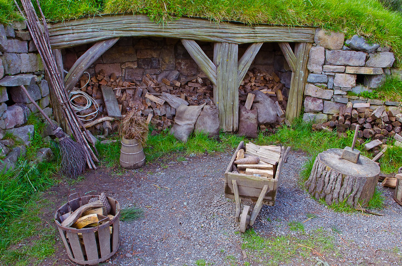firewood for Hobbits