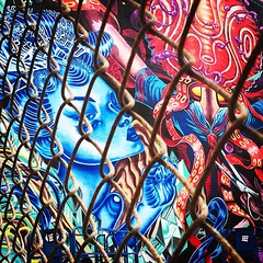 The other side of stargazing -- new mural across from San Francisco Conservatory of Music #art