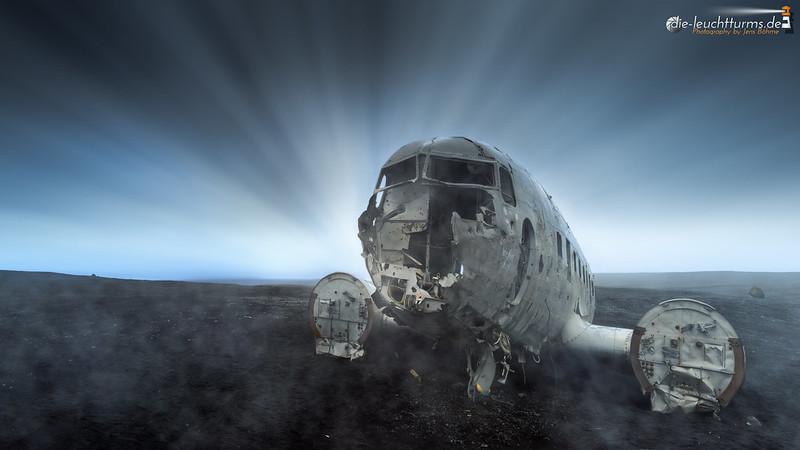 Plane wreck at Sólheimasandur