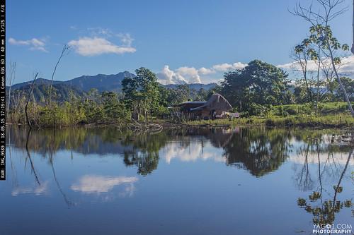 landscape bolivia basin amazonian rurrenabaque reflectionsflooded