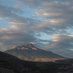 Sa, 30.05.15 - 06:23 - Vulkan Imbabura im Morgenlicht