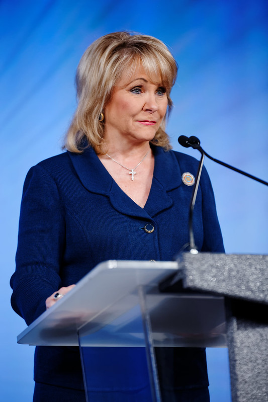 Governor of Oklahoma Mary Fallin at Southern Republican Leadership Conference May 2015, Oklahoma City, Oklahoma by Michael Vadon