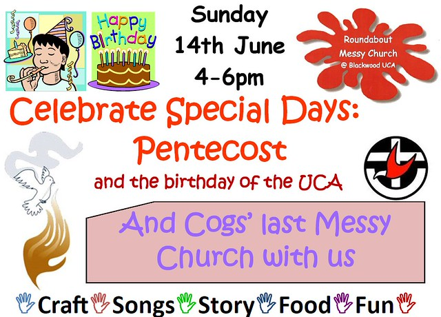 Messy Church at Blackwood Uniting Church - Special Days