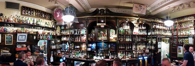 impressive selection of scotch @ Potstill