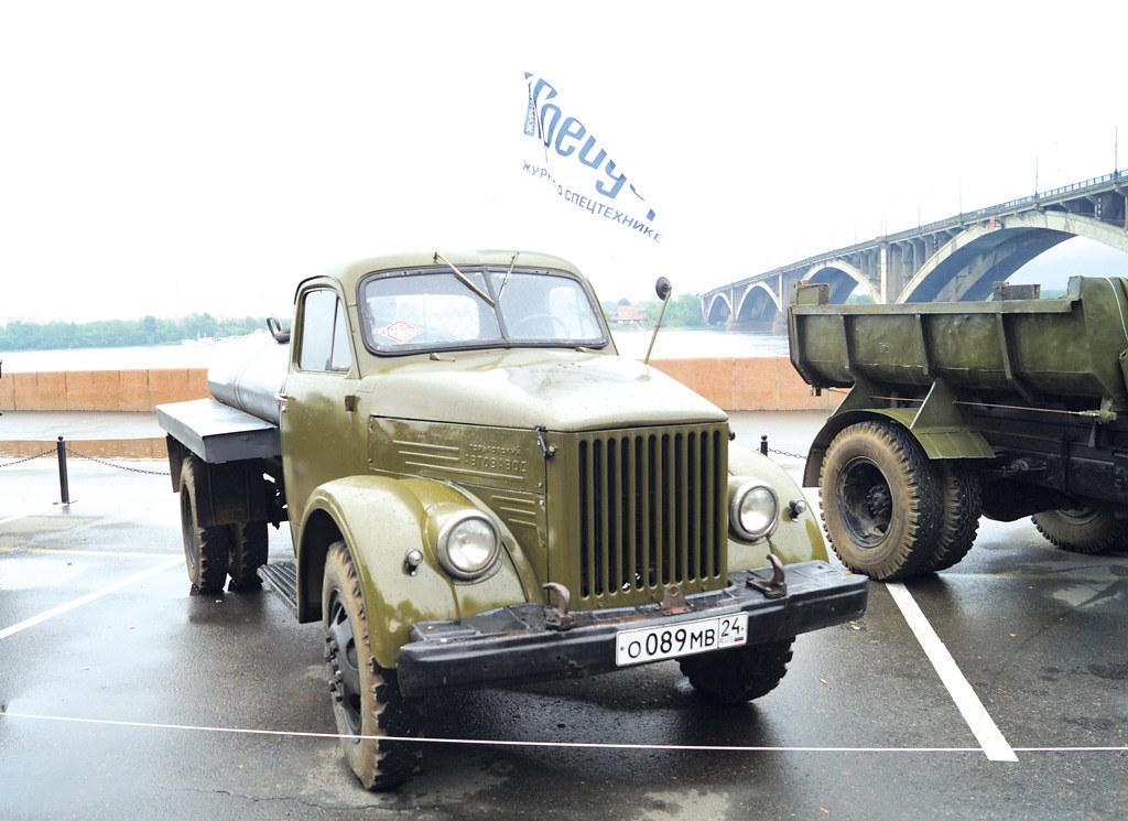 Бензовоз на базе ГАЗ-51А