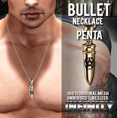 !NFINITY Bullet Necklace - Pentagram
