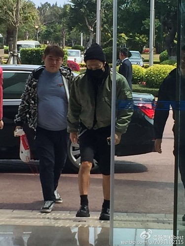 Big Bang - Fuzhou Airport - 29mar2015 - Tae Yang - 段志颖best - 02