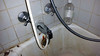 20150604 - picture of our shower the plumber took - WO# WO-8398 Picture Note 2015-06 - LiveGreen plumbing failed to fix this right