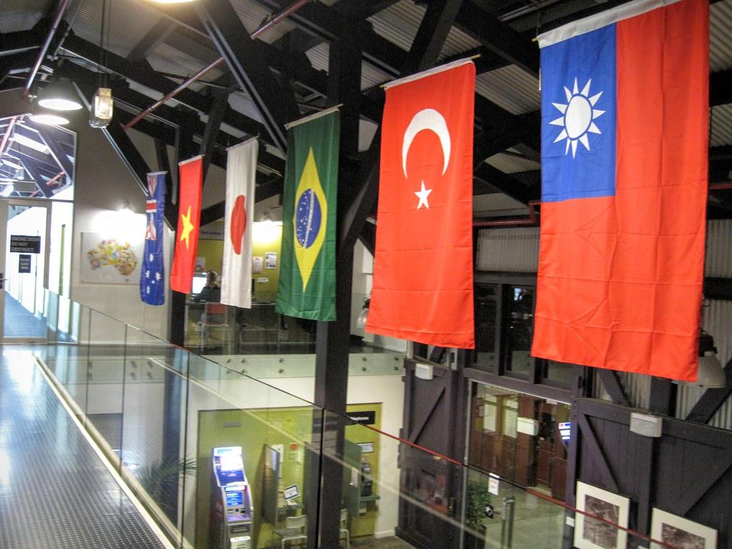 突然看到台灣的國旗,一定要來喊個 taiwan no.1 XDD