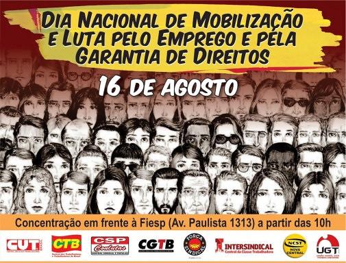 Tras los anuncios negativos para los trabajadores del Gobierno Temer, se fortalece el diálogo entre las centrales sindicales - Créditos: Divulgación