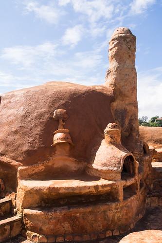 southamerica colombia architect mendoza co pottery villadeleyva boyacá villadeleiva bakedclay flinstonehouse casabarro casaterracotta casadeflinstone