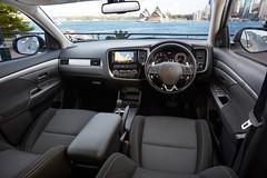 automobile, vehicle, mitsubishi outlander, mitsubishi, land vehicle,