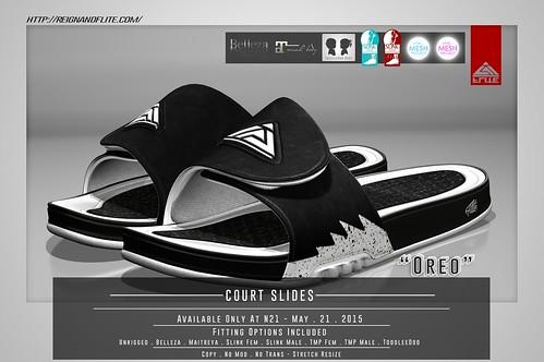 Flite . -Court Slides- Oreo @ N21