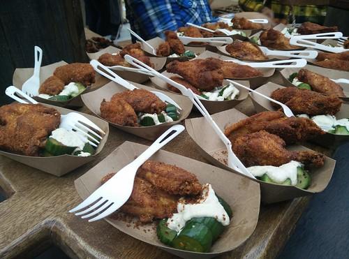 Chongqing chicken wings
