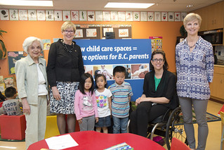 New child-care spaces will help BC families