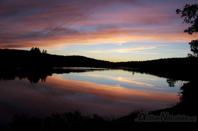 sunset view 0003 Harriman State Park, New York, USA