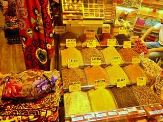 Grand Bazaar Spice Stall